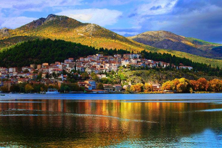 Kastoria Minivan taxi transfer